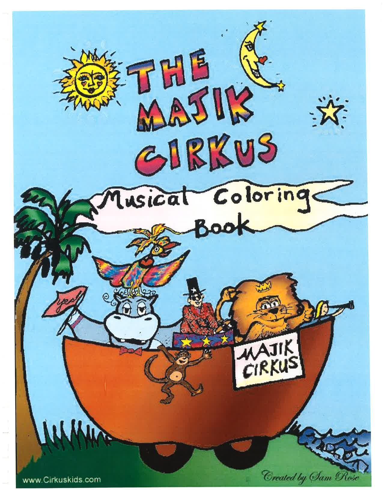 maijk cirkus color cover